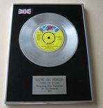 ELO ELECTRIC LIGHT ORCHESTRA - TURN TO STONE PLATINUM Single Presentation Disc